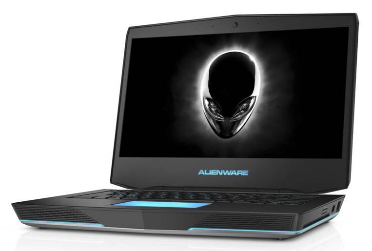 """Ноутбук 14.1"""" Dell Alienware 14 серебристый - фото 1"""