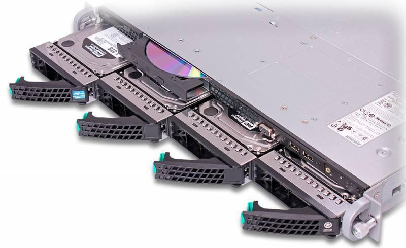 Платформа Intel R1304BB4GS9 - фото 6
