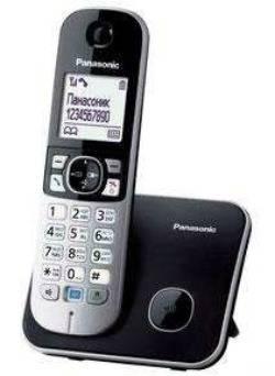 Телефон Panasonic KX-TG6811RUB черный
