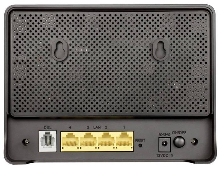 Модем xDSL D-Link DSL-2640U/B1A/T3A RJ-45 черный - фото 3