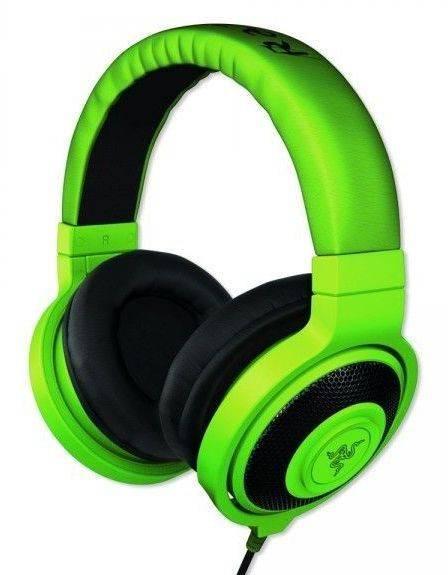 Наушники Razer Kraken зеленый - фото 1