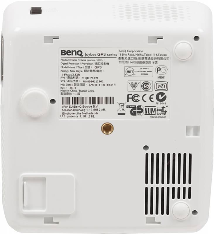 Проектор Benq GP3 черный - фото 4