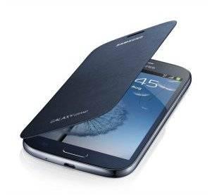 Чехол (флип-кейс) Samsung EF-FI908BLE синий - фото 1