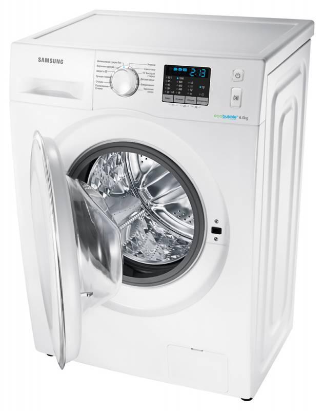 Стиральная машина Samsung WF6RF4E2W0W белый - фото 4