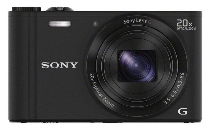 Фотоаппарат Sony Cyber-shot DSC-WX300 черный - фото 1