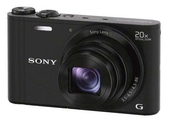 Фотоаппарат Sony Cyber-shot DSC-WX300 черный - фото 5