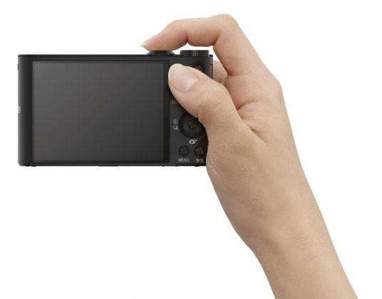 Фотоаппарат Sony Cyber-shot DSC-WX300 черный - фото 11