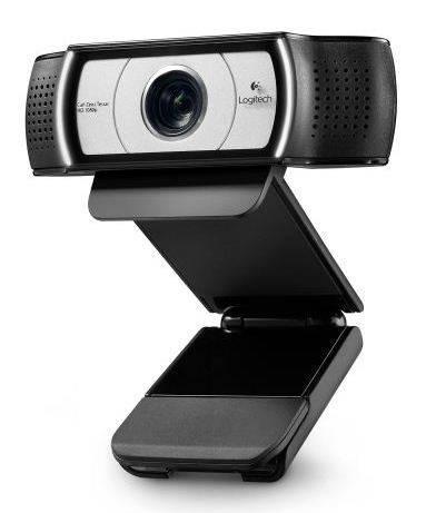 Камера Web Logitech HD Webcam C930e черный/серебристый (960-000972) - фото 1