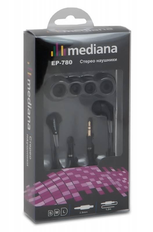 Наушники Mediana EP-780 черный - фото 3