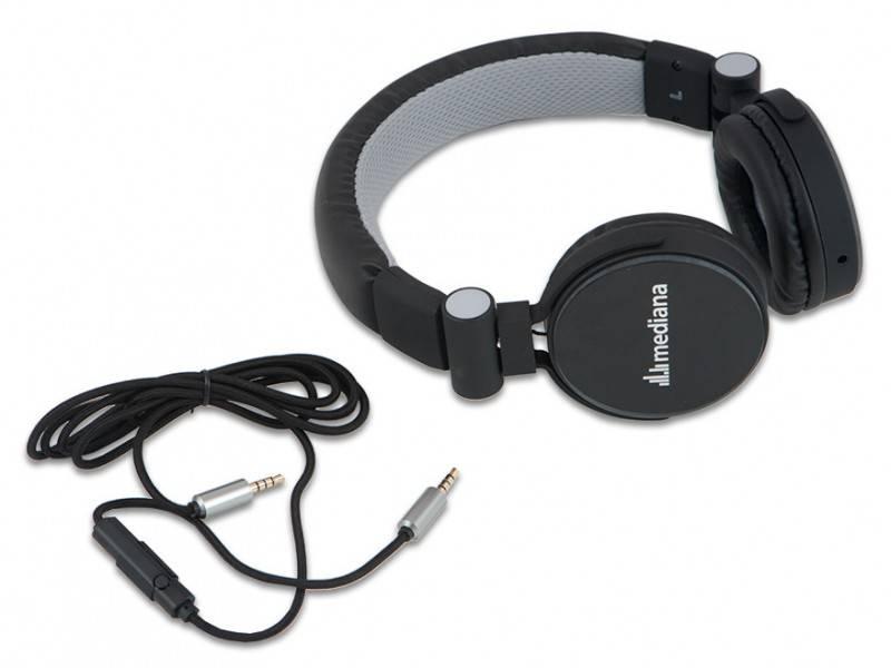 Наушники с микрофоном Mediana HP-i3 черный - фото 3