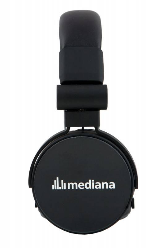 Наушники с микрофоном Mediana HP-i3 черный - фото 4