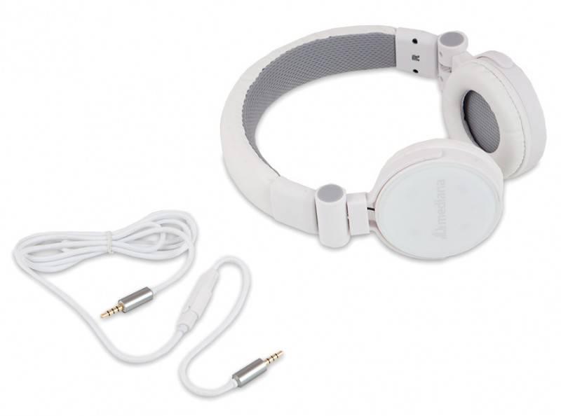 Наушники с микрофоном Mediana HP-i3 белый - фото 3