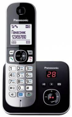 Телефон Panasonic KX-TG6821RUM серый металлик
