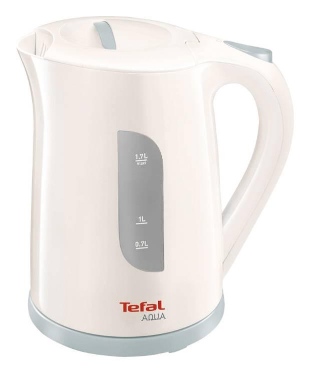 Чайник электрический Tefal KO270130 белый/серый (7211001078) - фото 1