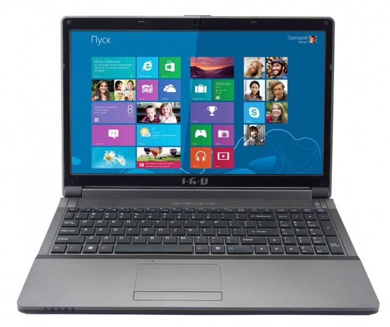 """Ноутбук 15.6"""" IRU Patriot 527 черный - фото 1"""