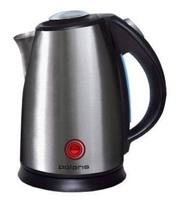 Чайник электрический Polaris PWK1765CAR черный матовый - фото 1