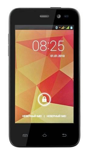 Смартфон ZTE LEO Q1 4ГБ черный - фото 1