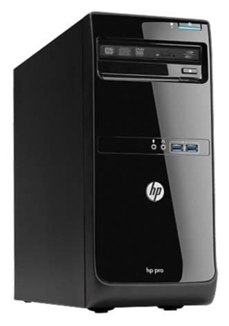 Системный блок HP Pro 3500 MT черный - фото 1