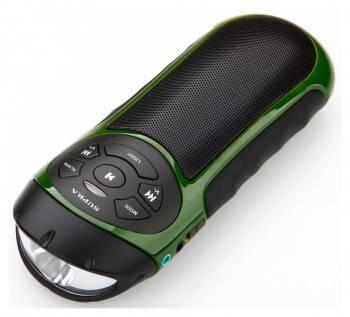 Магнитола Supra PAS-6277 зеленый / черный