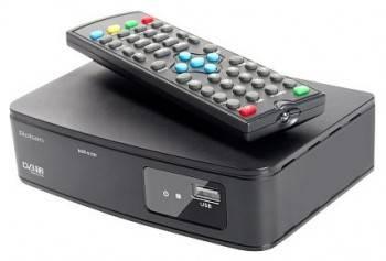 Ресивер DVB-T2 Rolsen RDB-512 черный