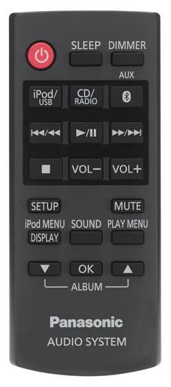 Микросистема Panasonic SC-NE5EE-K черный - фото 4