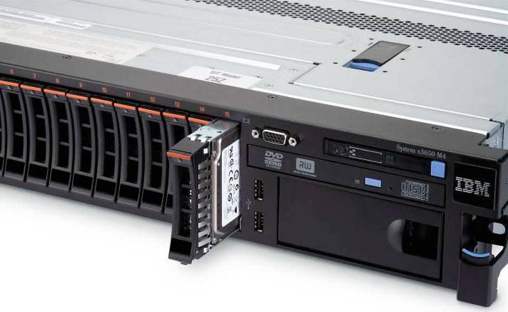 Сервер IBM x3650M4 - фото 9
