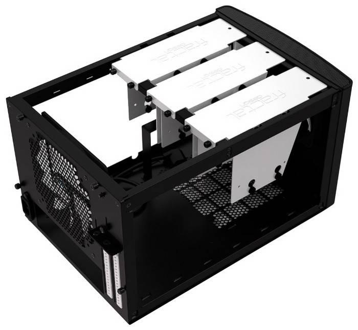 Корпус miniITX Fractal Design Node 304 черный (FD-CA-NODE-304-BL) - фото 2