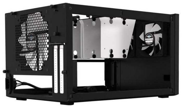 Корпус miniITX Fractal Design Node 304 черный (FD-CA-NODE-304-BL) - фото 3