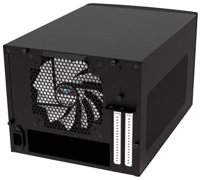 Корпус miniITX Fractal Design Node 304 черный (FD-CA-NODE-304-BL) - фото 4