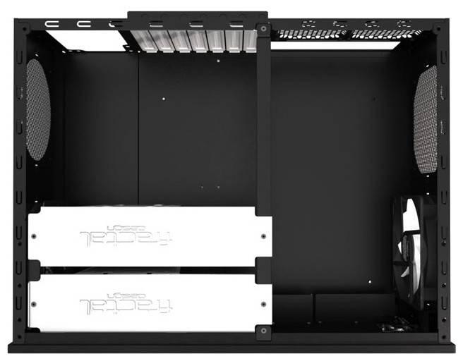 Корпус ATX Fractal Design Node 605 черный - фото 2