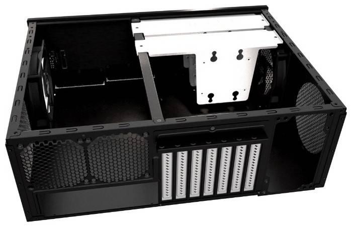 Корпус ATX Fractal Design Node 605 черный - фото 3