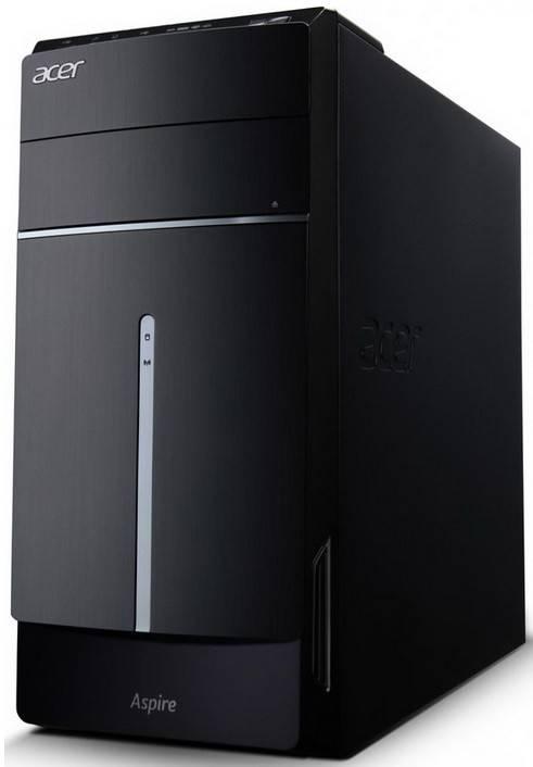 Системный блок Acer Aspire MC605 черный - фото 1