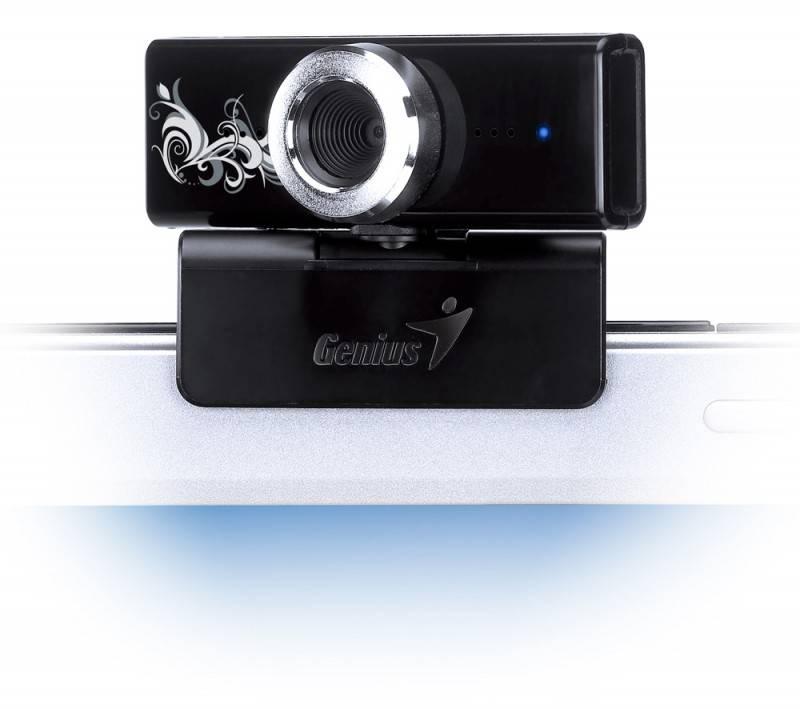 Камера Web Genius FaceCam 1000 Tattoo черный - фото 3