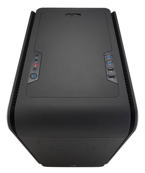 Корпус mATX Aerocool DS Cube черный - фото 5