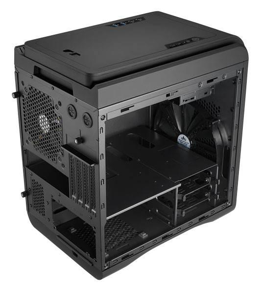 Корпус mATX Aerocool DS Cube черный - фото 6