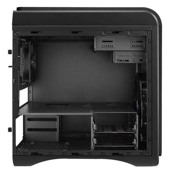 Корпус mATX Aerocool DS Cube черный - фото 7
