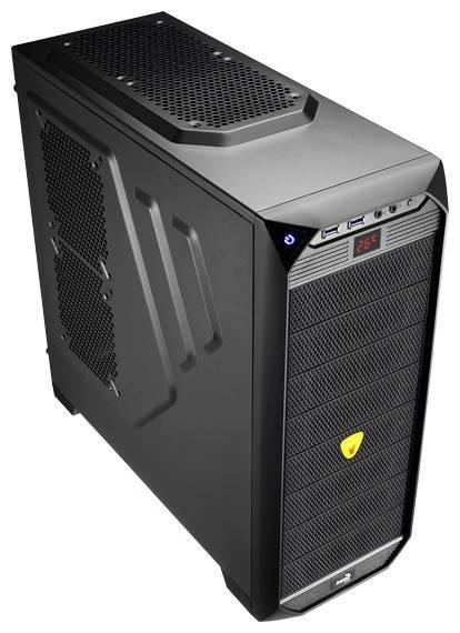 Корпус ATX Aerocool Vs-92 Black Edition черный - фото 1