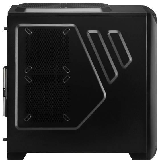Корпус ATX Aerocool Vs-92 Black Edition черный - фото 3