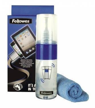 Чистящий набор (салфетки + спрей) Fellowes FS-9922301 (салфетка и спрей)