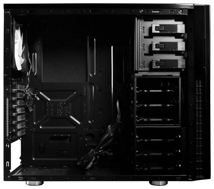 Корпус ATX NZXT H230 черный - фото 3