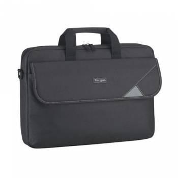 Сумка для ноутбука Targus Intellect TBT239EU-50 черный, полиэстер, рекомендуемая диагональ 15.6, съемный ремень, карманов внешних: 1шт, карманов внутренних: 2шт