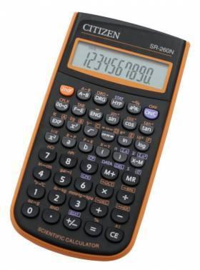 Калькулятор научный Citizen SR-260NOR оранжевый