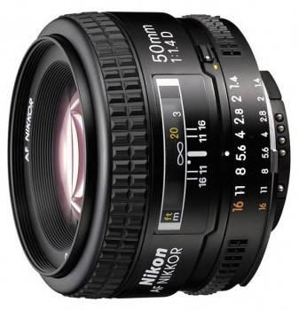 Объектив Nikon AF Nikkor 50mm f/1.4 (JAA011DB)