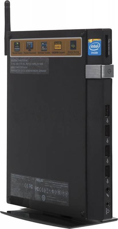 Неттоп Asus EeeBox PC EB1033 черный - фото 1