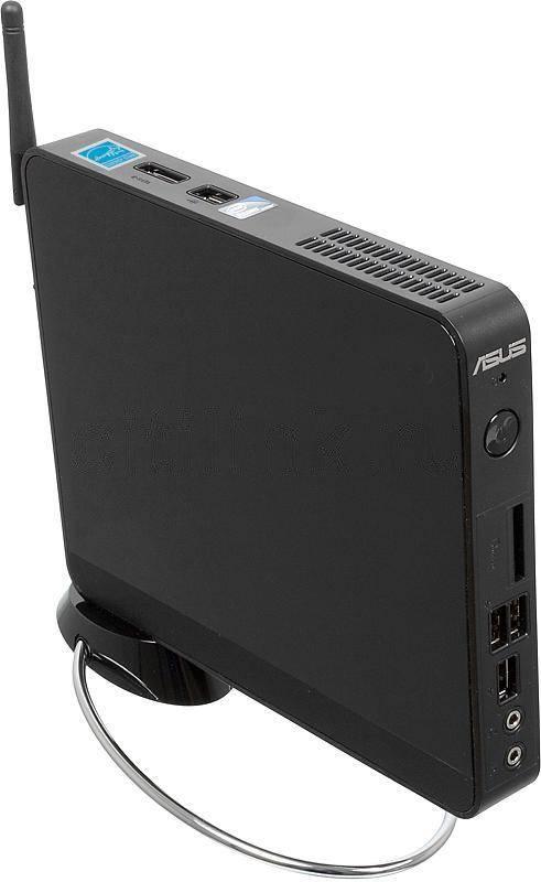 Неттоп Asus EeeBox PC EB1007P черный - фото 1