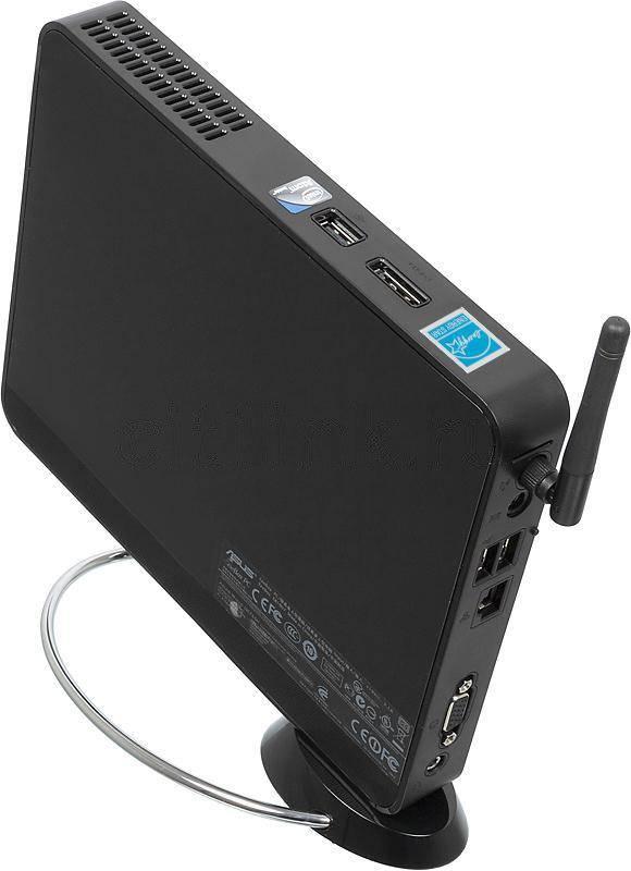 Неттоп Asus EeeBox PC EB1007P черный - фото 2