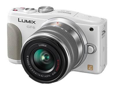 Фотоаппарат Panasonic Lumix DMC-GF6K kit белый - фото 1