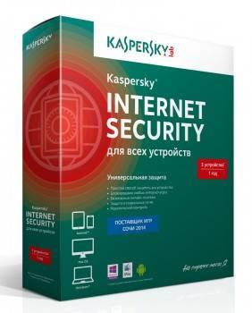 ПО Kaspersky Internet Security Multi-Device Russian Ed 3 устройства 1 год Base Box (KL1941RBCFS)