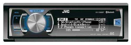 Автомагнитола JVC KD-SD80BTEY - фото 1