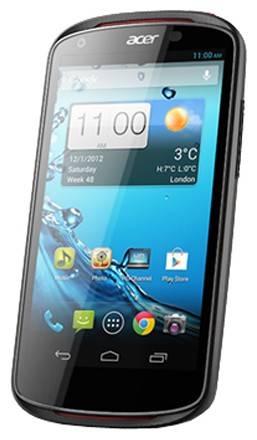 Смартфон Acer Liquid E1 Duo V360 4ГБ черный - фото 1